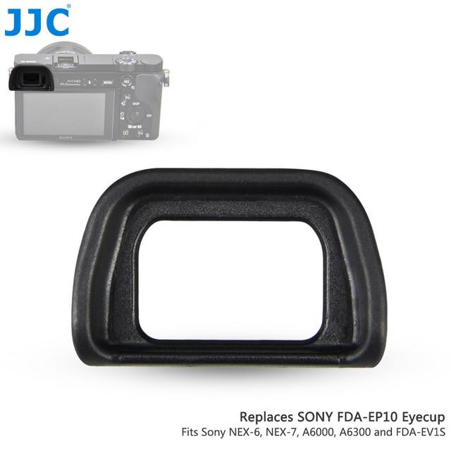 Jjc Zachte Oculair Eye Cup Voor Sony A6300 A6100 A6000 NEX 6 NEX 7 Vervangt FDA EP10 Oogschelp Dslr FDA EV1S Elektronische Zoeker