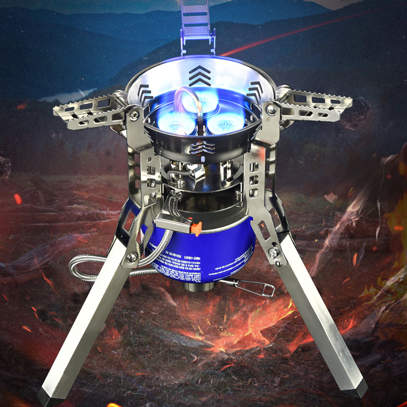 Bulin B16/A Portable Outdoor Hiking Strong Power 3800W/6800W Propane Camping Gas Stove Burner for Cooking(China)