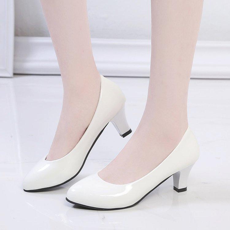 Quality Shoes Classic Black\u0026White Pumps