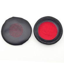 1Pair Replacement Ear Pads Cushion Earpad Cover for P-lantronics Voyager Focus UC B825 Headphone ear pads replacement cover for creative sound blaster tactic 3d sigma tactic360 headphones earmuffes headphone cushion