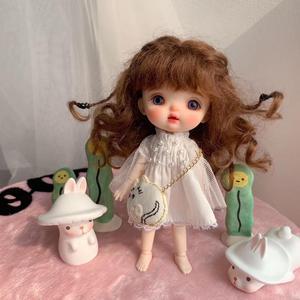 Image 4 - NEW Sugar dolls Ob11 dolls 1/8 customization BJD dolls DIY makeup doll and head OB doll