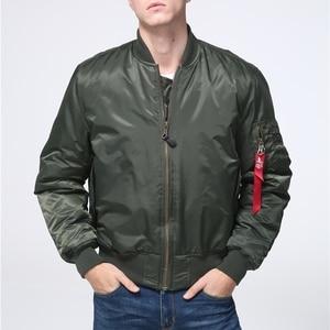 Военная Тактическая Мужская армейская ма-1 летная куртка-бомбер бейсбольная Университетская летная ВВС Водонепроницаемая зимняя куртка для мужчин