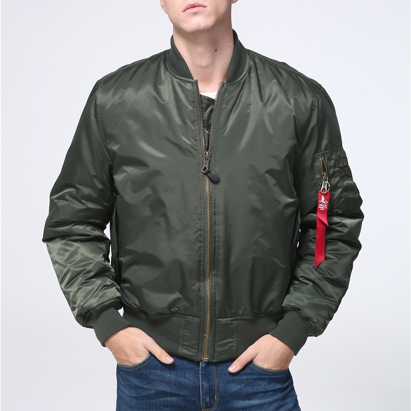 Military tactical Male Army MA-1 Flight Bomber Jacket Baseball Varsity College Pilot Air Force Waterproof Winter Coat For Men