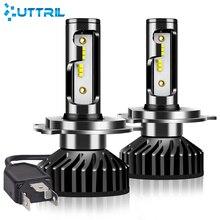 Uttril רכב פנס H4 H7 LED canbus H1 H3 H8 H9 H11 9005 HB3 9006 HB4 880 881 H27 ZES LED הנורה 100W 12000LM אוטומטי ערפל אור 12V