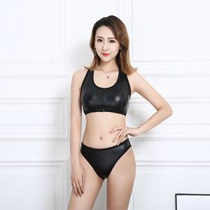 Conheça o sonho de duas peças maiô feminino 2020 mujer cintura alta tanga sexi crochê vestidos pelo cheiro push up bikini conjunto