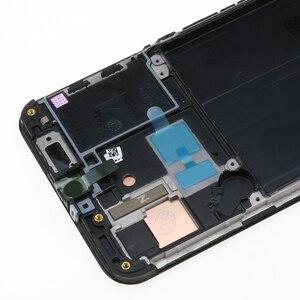 """Image 5 - オリジナル5.9 """"amoledサムスンA40 2019 A405F lcdディスプレイタッチスクリーンデジタイザーアセンブリの交換修理部品"""