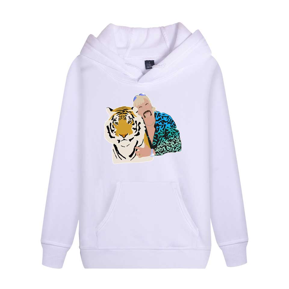 Joe Exotic Tiger King Hoodie Sweatshirt Unisex Print Spring Autumn Casual Hoodie Pullover Funny Hoodies