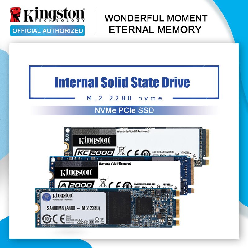 Внутренний твердотельный накопитель Kingston SSD M2 nvme 250 ГБ 500 Гб ТБ M2 SSD 1 ТБ PCIe 2280 SSD M.2 NVME