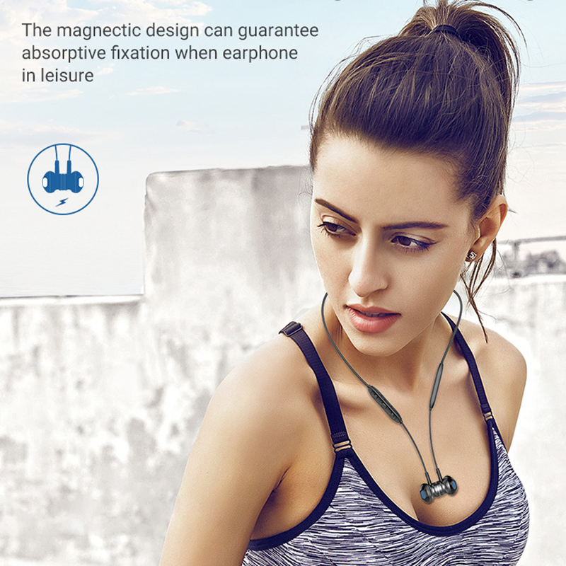 Langsdom L5B Bluetooth Earphone with HD Mic Metal Stereo Wireless Earphones Headphones auriculares Bluetooth Headset for phone