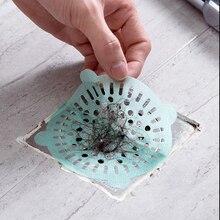 Drain Disposable SINK-FILTER Hair-Stopper Bathtub-Plug Kitchen-Basin Floor 10pcs
