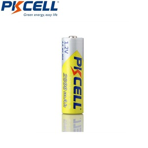 Image 2 - 10 PCS 2A PKCELL AA 2600 ~ 2800 mah baterias recarregáveis 1.2 v ni mh para lanterna brinquedo câmera de alta capacidade