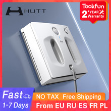 HUTT W66 Window Cleaner Robot for home Auto Fast Safe Smart Planned Electric Window Cleaning Washer Vacuum Cleaner