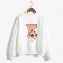 Autumn Europe And America Long Sleeve Base Shirt Ariana Grande