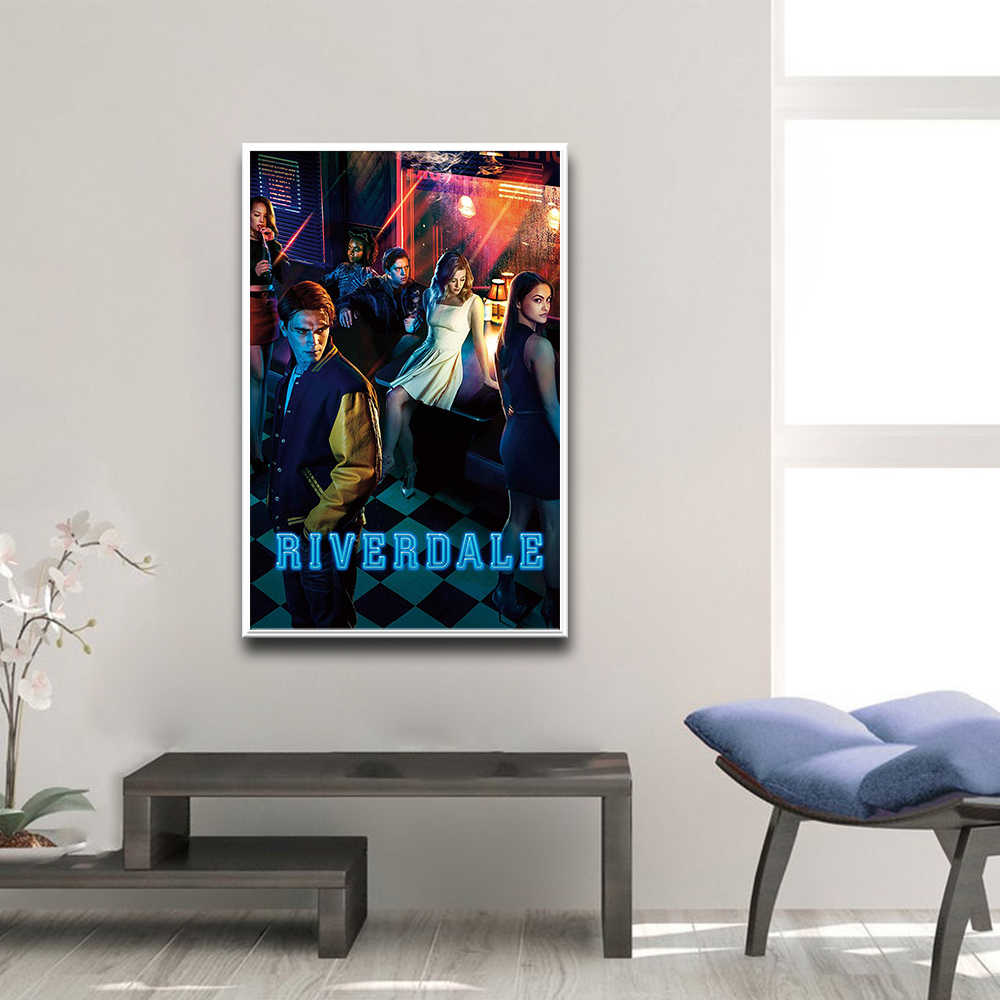 Modern TV Series Riverdale Poster Vintage Poster Prints Canvas Painting For Living Room Removable Decor Wall Decals