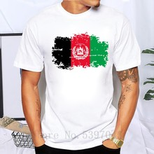 Afghanistan Flag T shirts Men Summer Cotton short sleeve Nostalgia T-shirts For Men Fans Cheer Tops Tees(China)