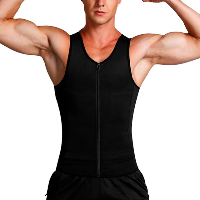 New Man Shaper Male Waist Trainer Cincher Corset Men Body Modeling Belt Tummy Slimming Strap Fitness Sweat Shapewear 2
