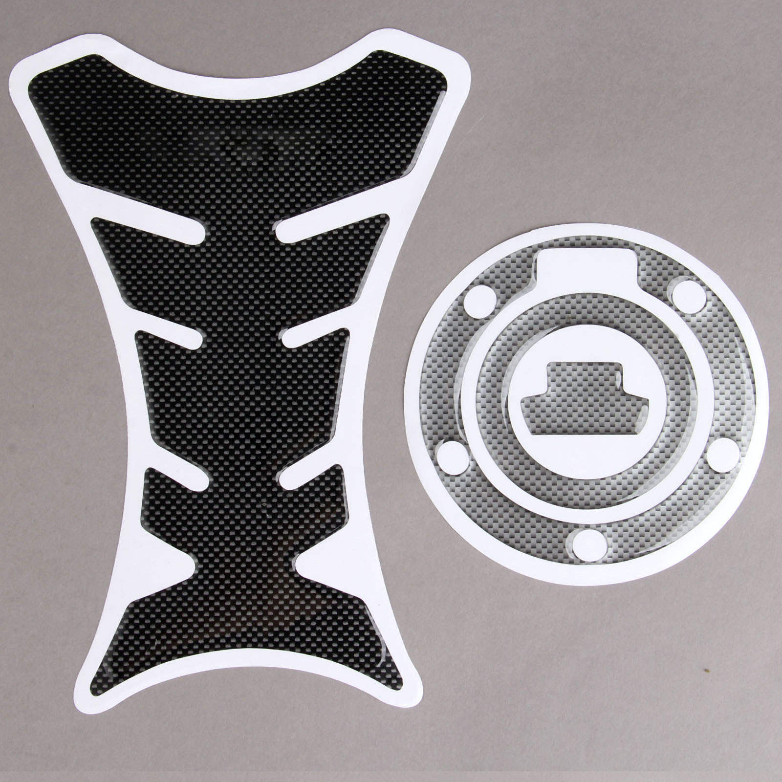 4 Gas Tank Cap Pad Cover Sticker 3D For YAMAHA YZF R1//R6//FZ,Royal Star