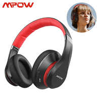 Mpow 059 Plus Active Noise Cancelling Headphones 40h Music Time Fast Charge Bluetooth 5.0 Wireless Headset For iPhone 11 Xiaomi