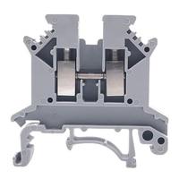 Uk2.5N Gr Din Rail Terminal Block  Screw Clamp  600V 20A 24 12Awg  Pack Of 100|Plug & Connectors|   -