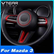 Vdéchirer – autocollant pour décoration de volant de voiture, pour Mazda 3 BP 2020 2019