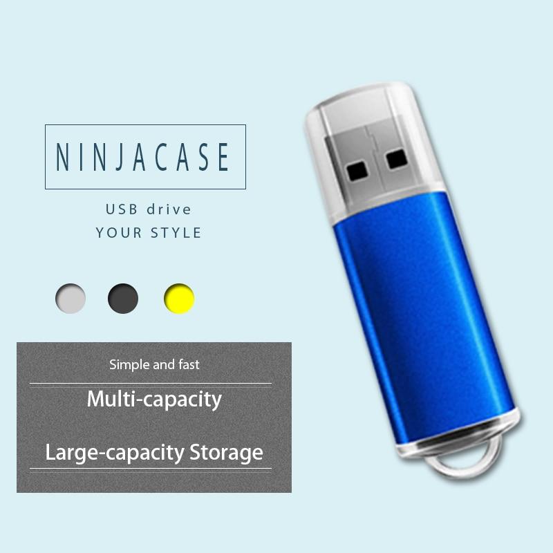 USB Flash dirve USB3.0 Pen drive de estado sólido MLC 64 GB-512 GB USB Stick Windows10 sistema de pluma conducir ganar a NINJACASE SSD3.0