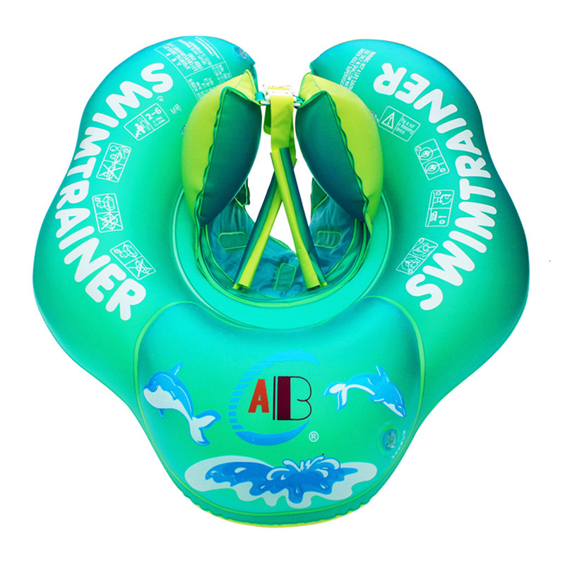 Inflatable Baby Swimming Ring Pool Float Safety Inflatable Circle Swim Kids Water Bed Pool Toys For Children Pool Accessories