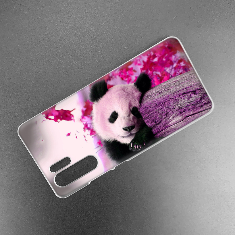Image 5 - Case Cover For Huawei Honor P20 Mate 20 10 P10 P9 P8 8X 9 Lite P Smart + Plus 2017 2019 Nova 3i Clear Cute Animal Panda Fundas-in Half-wrapped Cases from Cellphones & Telecommunications