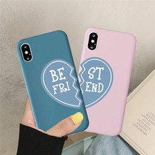 Sweet Bff Print Case for Iphone X Xr Xs