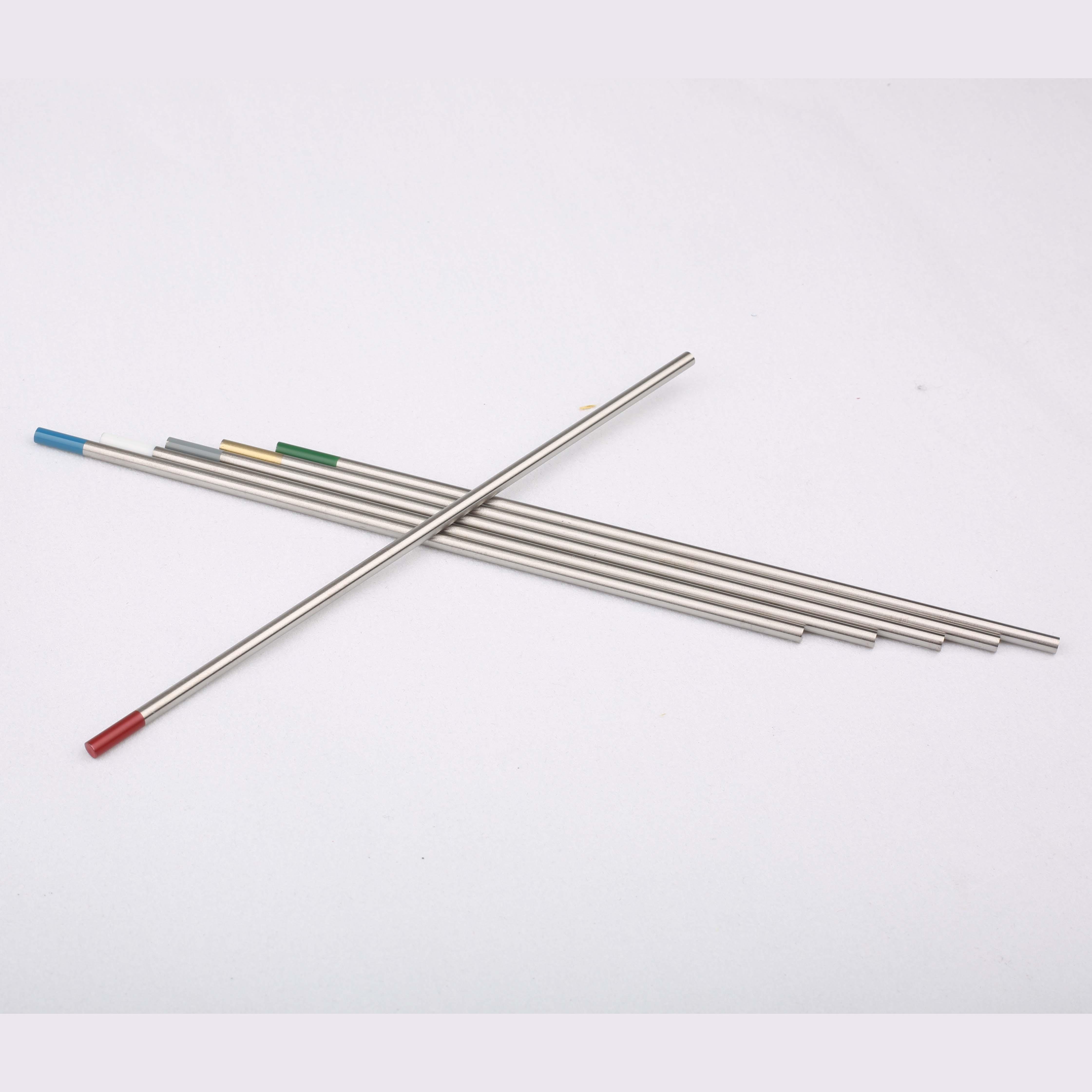 ¿Para qué se utilizan los electrodos de tungsteno?
