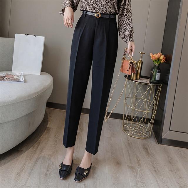 Elegant Office Lady Pants 6