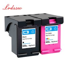 Compatible Ink Cartridge 650XL Replacement for HP 650 XL for HP650 Deskjet 1015 1515 2515 2545 2645 3515 3545 4515 4645 printer
