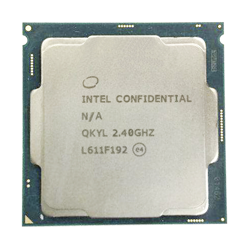 Intel QKYL 35W 4 core 8 threads 2.4G Core 3.0G for Engineering EditionLow power consumption uad-Core Eight-Thread <font><b>CPU</b></font> Processor image