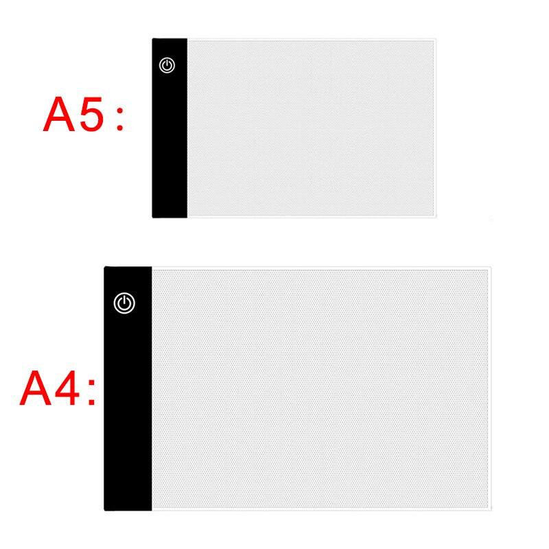 A3/a4/a5 размер три уровня Диммируемый светодиодный светильник