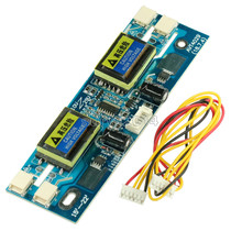 "10 30V Universal CCFL Inverter LCD Monitor Module 4 Lamp lcd Inverter for Laptop 15 22"" Widescreen Hot"