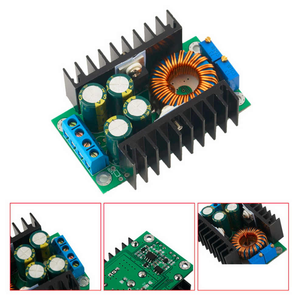 1pcs Professional Step-down Power DC-DC CC CV Buck Converter Supply Module 8-40V To 1.25-36V 12A Adjustable Wholesale Worldwide