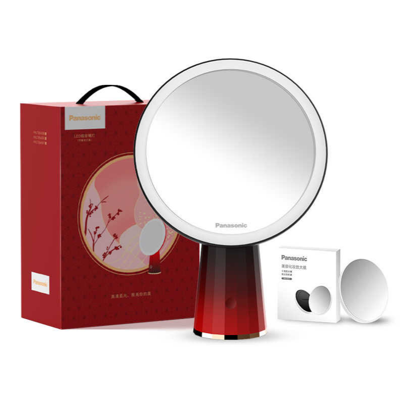 Red Magnifying