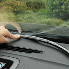Приборная панель автомобиля уплотнение краев полоса 16 м углеродного