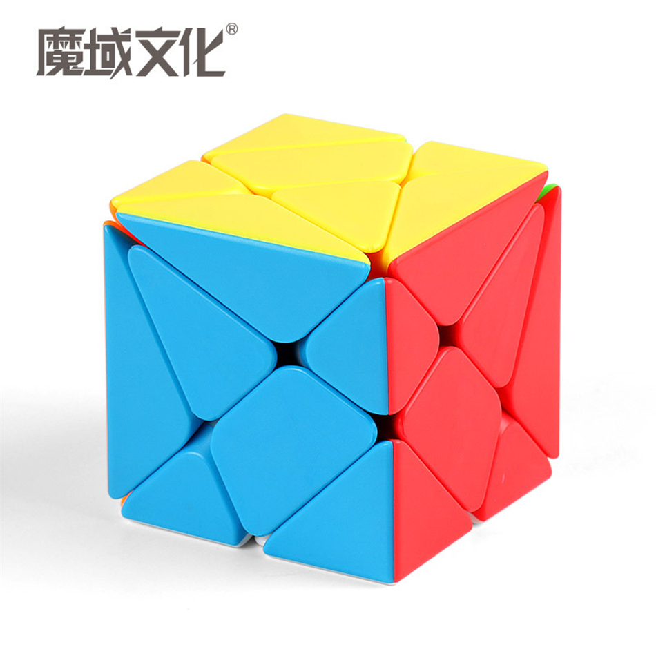 MoYu 3x3x3 Meilong Axis Magic Cube Stickerless Puzzle Cubes Professional Speed Cubo Magico Educational Toys For Students