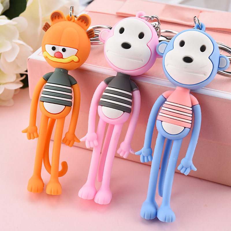 Toy Story Keychain-Figure Monkey Doll Cartoon for Children Gift PVC Hot-Sale Cute New-Arrival