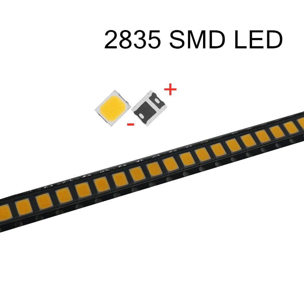 100Pcs SMD 5730 2835 3V 6V 9V 18V 0.5W Chip LED Lamp 50-60 LM LEDs Diode Light For Indoor LED Strip Spotlight Bulb