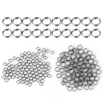 Professional 100Pcs/lot Dart Shaft Stainless Steel Rings for Nylon Darts Shafts Dart Accessories Dardos black Washer Grommets image
