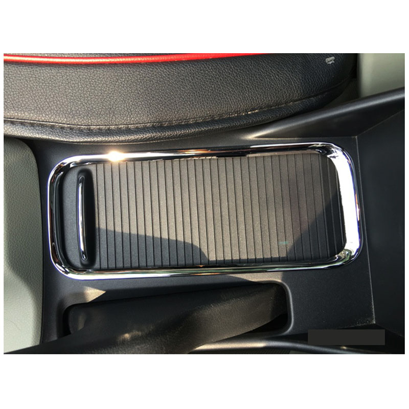 Lsrtw2017 Abs Car Cup Frame Trims Decoration Chrome For Honda Civic 2011 2012 2013 2014 2015 9th Interior Accessories Styling