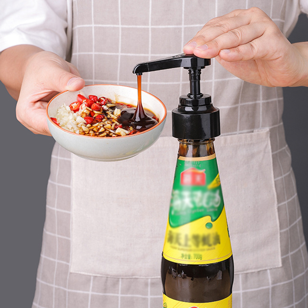 Kitchen-Supplies Syrup Home Bottle-Press Pressure-Nozzle-Essential Plastic Head Artifact title=