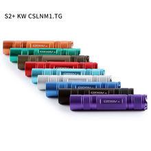 Comboio s2 + com kw cslnm1.tg, 18650 lanterna, tocha