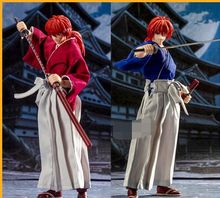 Stokta DASIN anime Rurouni Kenshin HIMURA KENSHIN pvc action figure GT modeli oyuncak