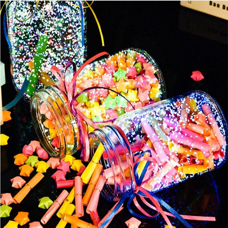 10 G/zak Kleurrijke Licht Fluorescerend Poeder Luminous Korrels Diy Wishing Fles Lichtgevende Zand Bruiloft Decoratie Feestartikelen