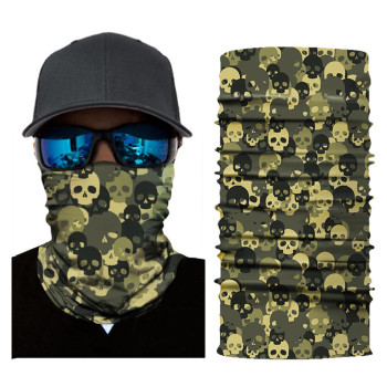 Skull mouth face cover ears protec