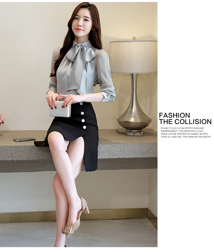 das mulheres blusas e blusas 2018 sólido