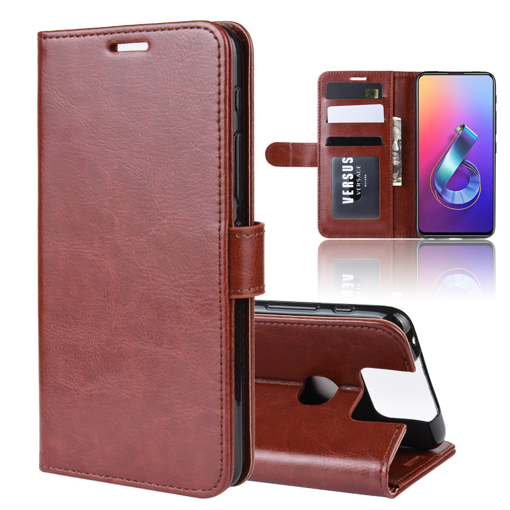 PU Leather Case For Asus Zenfone 6 ZS630KL Case Flip Wallet Stand Book Cover For Asus Zenfone6 ZS630KL Phone Case Coque Fundas