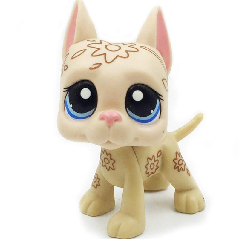 Лпс стоячки кошки игрушки Lps кошка редкие животные pet shop игрушки подставки Собака Такса колли кокер спаниель great dane Хаски старый Рисунок Коллекция - Цвет: MINI